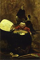 The Japanese Doll, 1890, chase