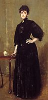 Lady in Black, 1888, chase