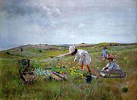 The Little Garden, 1895, chase