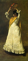 A Madrid Dancing Girl, 1886, chase