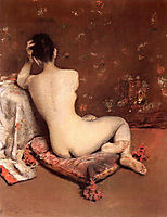 The Model, c.1888, chase