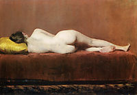 Nude Recumbent, 1888, chase