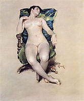 Nude Resting, 1888, chase