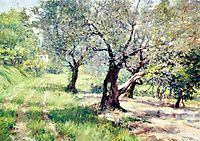 The Olive Grove, 1910, chase
