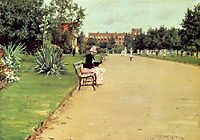 The Park, 1887, chase
