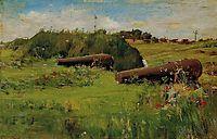 Peace, Fort Hamilton, 1887, chase