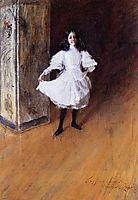 Portrait of the Artist-s Daughter (Dorothy), c.1879, chase