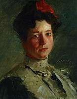 Portrait of Martha Walter, 1908, chase