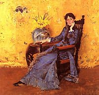 Portrait of Miss Dora Wheeler, 1883, chase