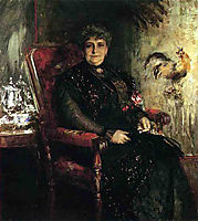 Portrait of Mme. E.H. Bensel, 1912, chase