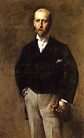 Portrait of William Charles Le Gendre, 1884, chase
