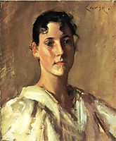 Portrait of a Young Woman, 18, chase