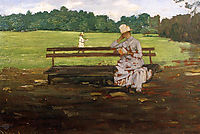 Prospect Park, Brooklyn, 1886, chase