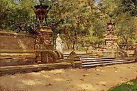 Prospect Park, Brooklyn, 1887, chase