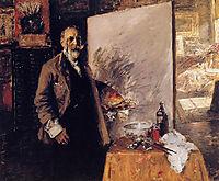 Self Portrait, 1916, chase