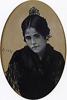 Spanish Girl, 1886, chase
