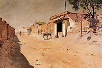 Spanish Village, 1882, chase