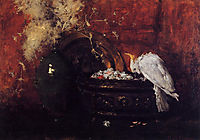 Still Life with Cockatoo, c.1881, chase