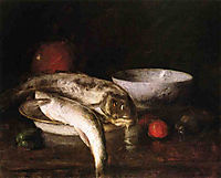 Still Life with Fish, chase