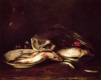 Still Life with Fish, 1915, chase