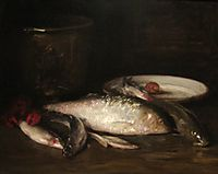 Still-Life with Fish, chase