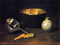 Still Life with Pepper and Carrot, c.1900, chase