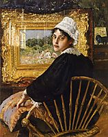 A Study aka The Artist-s Wife, 1892, chase