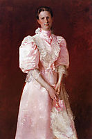A Study in Pink (aka Portrait of Mrs. Robert P. McDougal), 1895, chase