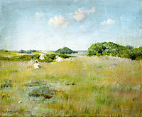 A Summer Day, 1895, chase