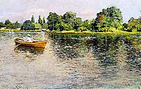Summertime (Pulling for Shore), c.1886, chase