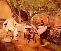 Sunlight and Shadow, 1884, chase