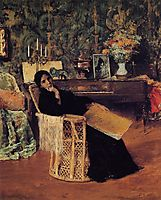 In the Studio, 1892, chase