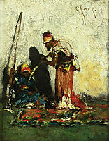 Two Arabs, 1881, chase