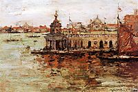 Venice: View of the Navy Arsenal, 1913, chase