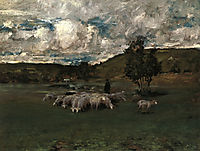 View near Polling, 1876, chase