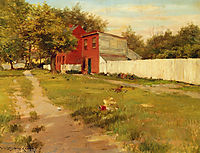 The White Fence, chase