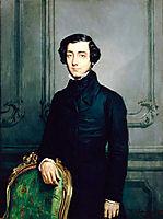 Alexis de Tocqueville , 1850, chasseriau