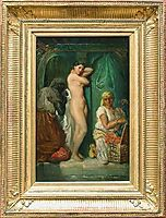 A Bath in the Harem, 1849, chasseriau