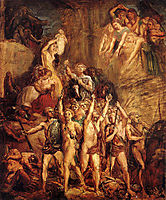 La défense des Gaules, 1855, chasseriau