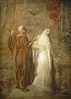 Le Coucher de Desdémone, 1841, chasseriau