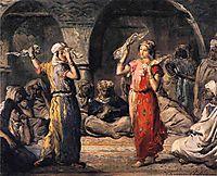 Moorish Dancers, 1849, chasseriau
