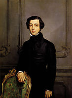 Portrait of Alexis de Toqueville, 1850, chasseriau