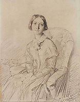 Portrait of Mme Felix Ravaisson-Mollien, 1846, chasseriau