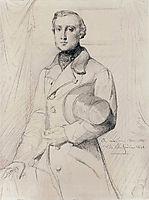 Portrait of Louis Marcotte de Quivires, 1841, chasseriau