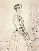 Portrait of Mme Borg de Balsan, 1847, chasseriau