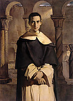Portrait of the Reverend Father Dominique Lacordaire, of the Order of the Predicant Friars, 1840, chasseriau