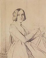 Portrait of Zoe de la Rue, 1842, chasseriau