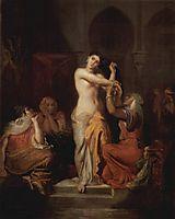 Scène de Harem, Femme Mauresque à sa toilette, 1854, chasseriau