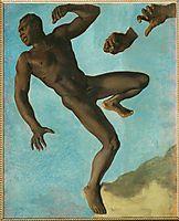 Study of Negro , 1838, chasseriau
