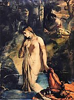 Susanna and the Elders, 1839, chasseriau